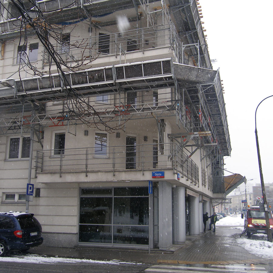 Biuro Warszawa, Gęsta